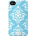 Elibrium 365 Case for iPhone4/4S, Blue Damask
