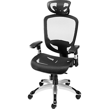 Staples Hyken™ Technical Mesh Task Chair, Black