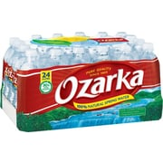 Ozarka® 100% Natural Spring Water 16.9-ounce Plastic Bottle, 24/Box