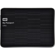 WD My Passport Ultra 500GB Portable USB 3.0/2.0 External Hard Drive, Black (WDBPGC5000ABK)