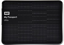WD My Passport Ultra 1TB Portable USB 3.0/2.0 External Hard Drive, Black (WDBZFP0010BBK)