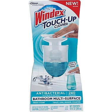 Windex Touch-Up Cleaners, Fresh Scent, 10 oz