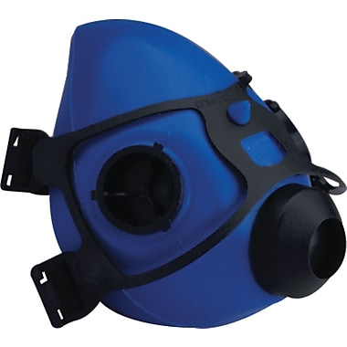 US Safety Silicone Rubber Facepiece, Medium