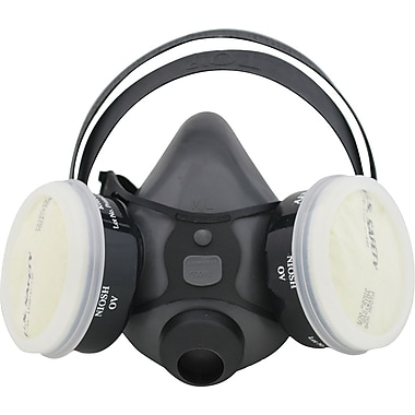 US Safety OV/N95 Elastomeric Facepiece, Low-Maintenance
