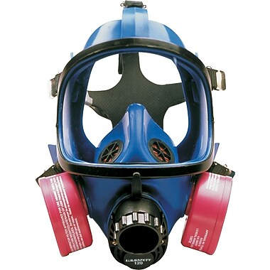 US Safety Comfort-Air Purifying Full Facepiece Assembly, Silicone, With Small/Medium Inner Mask,
