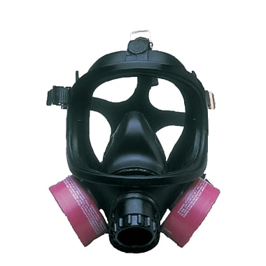 Dentec Safety Comfort-Air Purifying Full Facepiece Assembly, Neoprene, With Inner Mask