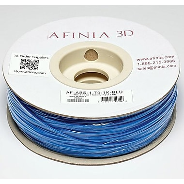 Afinia 1.75 mm Value-Line Blue ABS Filament