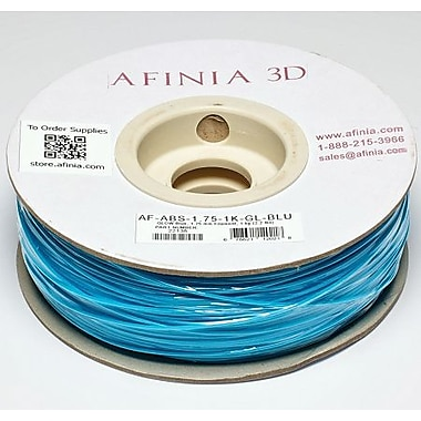 Afinia - Filament ABS Value-Line bleu luminescent de 1,75 mm