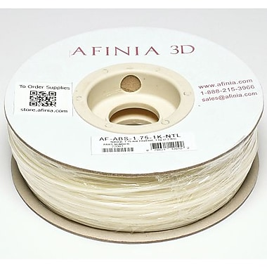 Afinia 1.75 mm Value-Line Natural ABS Filament