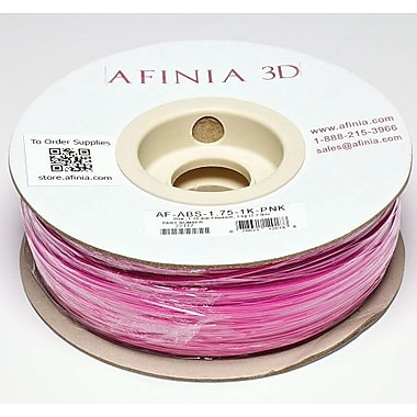 Afinia 1.75 mm Value-Line Pink ABS Filament