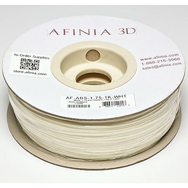 Afinia 1.75 mm Value-Line White ABS Filament