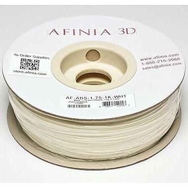 Afinia - Filament ABS blanc Value-Line de 1,75 mm