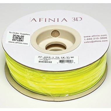 Afinia 1.75 mm Value-Line Yellow ABS Filament