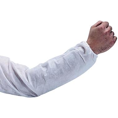 Keystone – Manchons jetables en polypropylène, blanc, 18 x 9 po, 200/boîte
