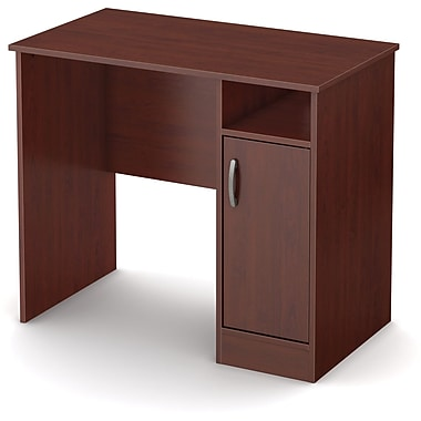 South Shore Axess Compact Desk, Royal Cherry