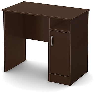 South Shore Axess Compact Desk, Chocolate