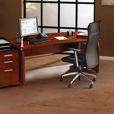 Floortex,1215030019ER, XXL Polycarbonate Chairmat Hard Floor Rectangle, 60