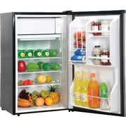Magic Chef® 3.6 CU. FT. Refrigerator with Clear Back, Stainless Steel