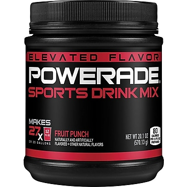 Powerade® Sports Drink Mix, Fruit Punch, 2.5 Gallons
