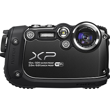 Fuji FinePix XP200 Digital Camera, Black