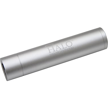 Halo Pocket Power 2200 Universal Portable Cell Phone Charger, Silver