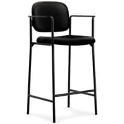 basyx by HON HVL636 Cafe-Height Stool, Black