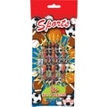 DesignWay #2 Assorted Sports Pencils, 24/Pack
