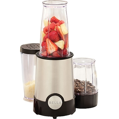 BELLA 12 Piece Rocket Blender, Black