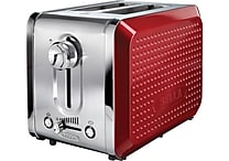BELLA® Dots 2 Slice Toaster, Red