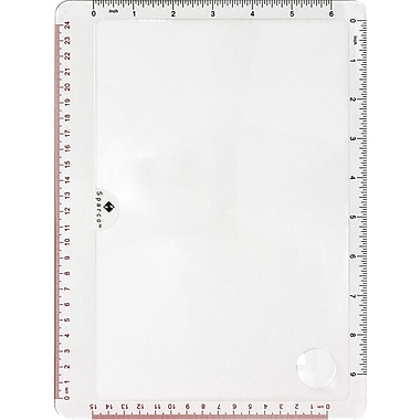 Sparco™ Full Page Hand-Held Magnifier, 5