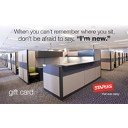 Staples® Welcome Gift Card $100