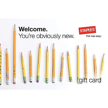 Staples® New Hire Gift Card $100