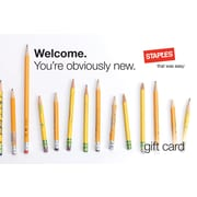 Staples® New Hire Gift Card $75