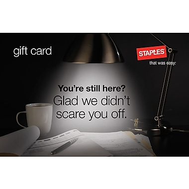 Staples® Anniversary Gift Card $100