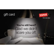 Staples® Anniversary Gift Card $75