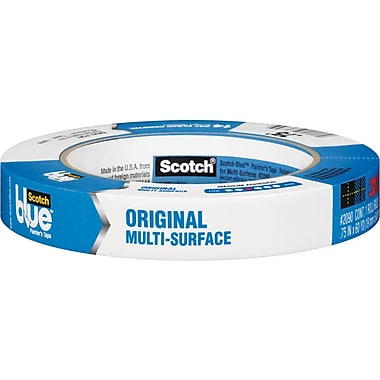Scotch Blue Painter's Tape, Multi-Surface, .70in. x 60 yds.