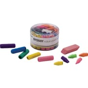 Officemate Eraser Value Pack, Assorted, 45/Pack