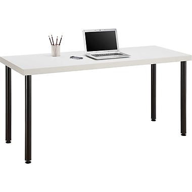 Staples Integrate Commercial Desk, White