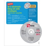 Staples® 2013 Tax Forms, W2 E File Tax Forms Software & Envelopes, 50/PK