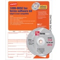 Staples® 2013 Tax Forms, 1099 Misc Tax Software Kit, 50/PK