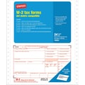 Staples® 2013 Tax Forms, W2 Continuous Form, 24/PK