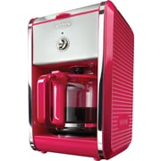 BELLA® Dots Switch 12-Cup Coffee Maker, Pink