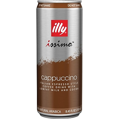 Illy Issimo Coffee Beverage, 250 mL, 24/case