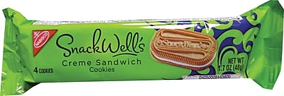 Snackwell s Vanilla Creme Cookies 1.7 oz. Packs 60 Packs Box