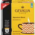 Gevalia K-Cup Signature Blend Coffee, Regular, 18/Pack