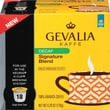 Gevalia K-Cup Signature Blend Coffee, Decaffeinated, 18/Pack
