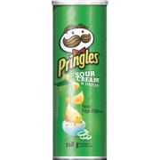 Pringles® Flavour Potato Chips, Sour Cream & Onion Flavour, 168 g