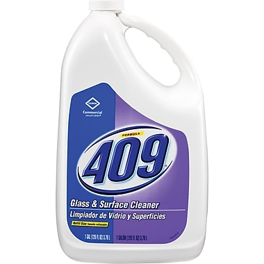 Clorox Formula 409 Glass and Surface Cleaner, 128 oz Refill, 4/case