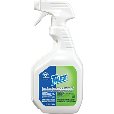 Clorox Tilex® Soap Scum Remover and Disinfectant, Unscented, 32 oz Spray