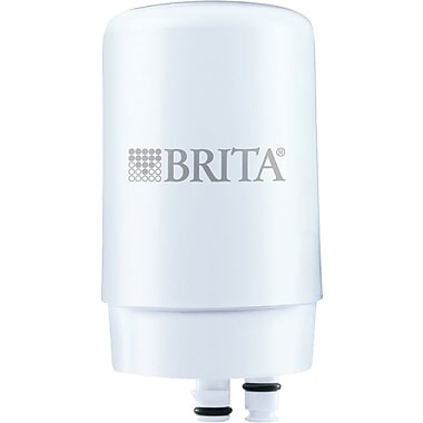 Brita® On Tap Faucet Water Filter System Replacement Filter, White